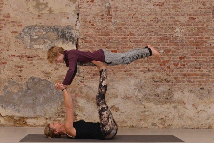 Workshops Ouder en Kind Yoga-Mindfulness 4-8 en 8-14 jaar
